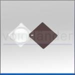 Einschlaglupe, bikonvex, 3,5x, 45mm (D), 10dpt