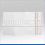 Druckverschlussbeutel PE, mit Beschriftungsfeld, Minigrip