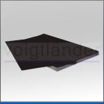 Backing Card, black, non-reflective