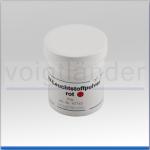 UV-Leuchtpulver rot, 20g, in Kunststoffdose