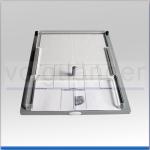 Fingerabdruckplatte mit Formularhalter, EU-Format