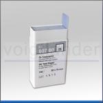 Öl-Testpapier, 20 x 70mm, Inhalt: 100 Teststreifen