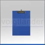 Schreibplatte DIN A4, Klemmleiste an kurzer Seite