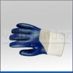 Nitril Arbeitshandschuh, blau