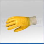 Nitril Arbeitshandschuh, gelb