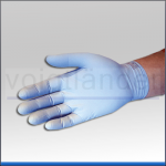 Nitril Einmal-Handschuh Safegrip, blau