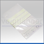 Druckverschlussbeutel PE, mit Beschriftungsfeld