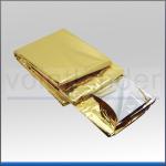 Rettungsdecke, 210 x 160cm, antistatisch, silber/gold