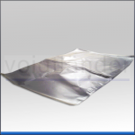 Siegelrandbeutel PET/PE mit Alu metallisiert, 3-seitig versiegelt