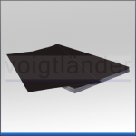 Chromolux Backing Card, high gloss paper, black