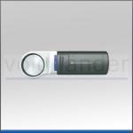 Handleuchtlupe LED, asphärisch, 12,5x, 35mm (D), 50dpt, Mobilux