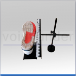 Schuh- und Beweisstückhalterung