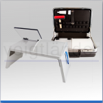 Mobiler Daktyloskopie-Tisch im Koffer