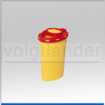 Kanülen-Entsorgungsbehälter,  200ml, oval