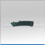 Cutter Knife, Aluminium Housing, black, 170mm (L)