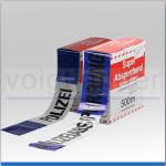 Absperr-Warnband blau/weiß