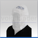 Einmal-Transporthaube (Spuckschutzhaube), Pol-I-Veil, weiß