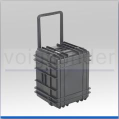 Transportkoffer, PP schwarz, 605 x 511 x 437mm