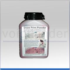 Schnee-Abdruck-Pulver, 250 ml, Kontrastherstellung