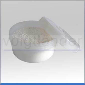 Stearin, fein gemahlen, Pulver, 100g, in Kunststoffdose