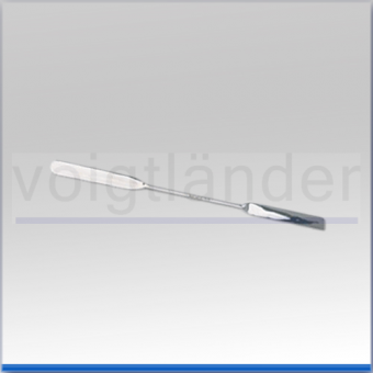 Doppelspatel, 150 x  9mm (LxB), Edelstahl, unsteril