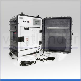 Cyanacrylat-Spurenentwicklungsgerät VCK 30L, im Koffer