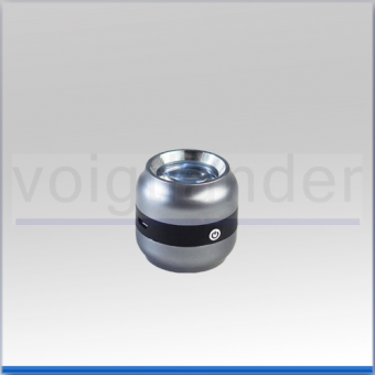Dokumentenprüfer/Handleuchtlupe Smolia, bikonvex, UV, 10x, 52mm (D), 36dpt