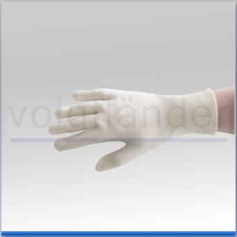 Baumwoll Handschuh, rohweiß, 25cm (L)