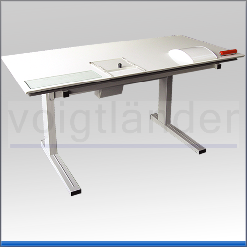 Daktyloskopie-Tisch VDT, 150 x 80cm (LxB), elektrische Höhenverstellung