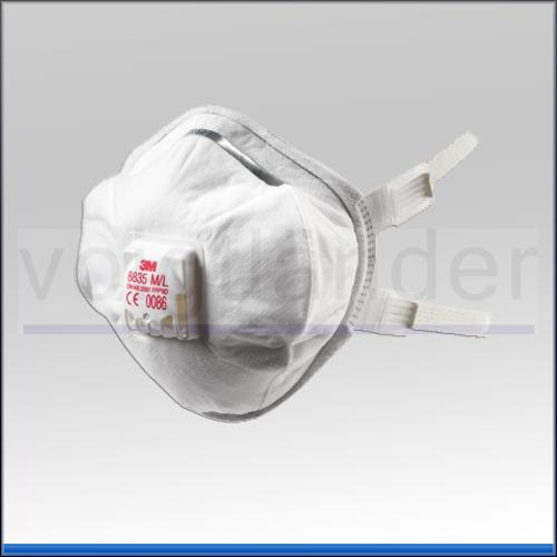 Atemschutzmaske FFP3 R D mit Ventil