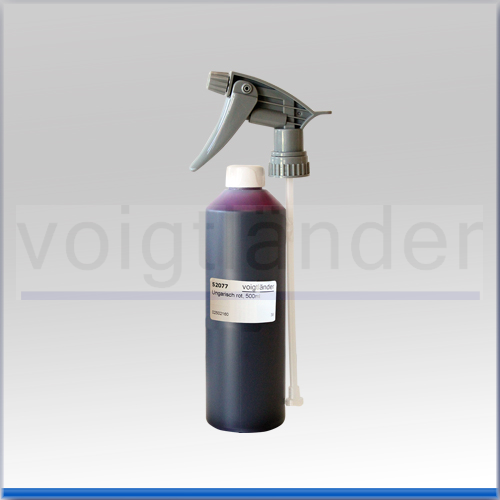 Ungarisch rot, Lösung,  500ml, in Sprühflasche