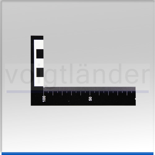 Winkel-Lineal schwarz, 100 x 50mm