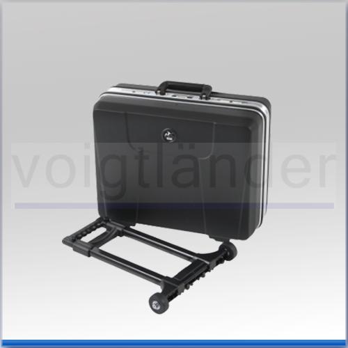 Hartschalen-Koffer, ABS, schwarz, 470 x 360 x 220mm